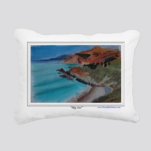 Big Sur a shirt Rectangular Canvas Pillow