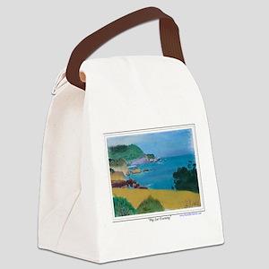 Big Sur Evening a shirt Canvas Lunch Bag