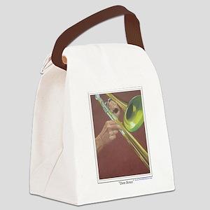 Dem Bones shirt Canvas Lunch Bag