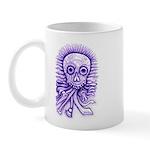 Purple Singing Skull Mug