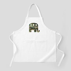 Republican Camo Elephant Apron