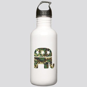 Republican Camo Elephant Stainless Water Bottl