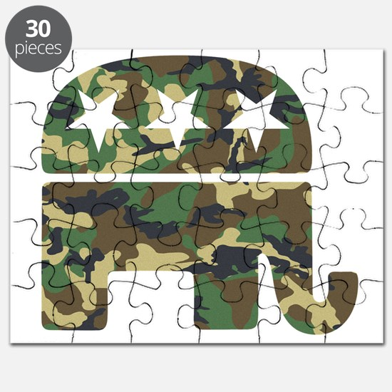 Republican Camo Elephant.png Puzzle