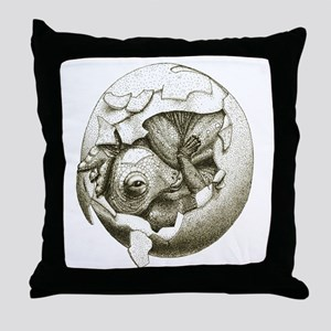 Baby Maia Throw Pillow