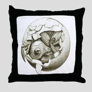 Baby Maia Throw Pillow