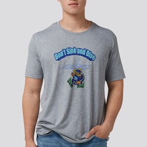 sink and dive w Mens Tri-blend T-Shirt