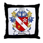 Sauchy Coat of Arms Throw Pillow