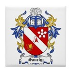 Sauchy Coat of Arms Tile Coaster