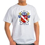 Sauchy Coat of Arms Ash Grey T-Shirt