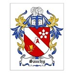 Sauchy Coat of Arms Small Poster