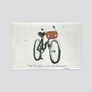 Bicycle Rectangle Magnet