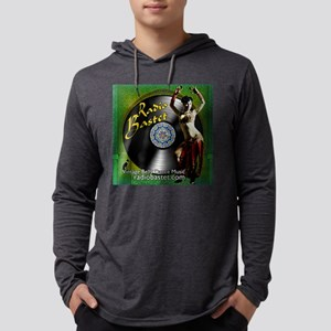Radio Bastet Mens Hooded Shirt