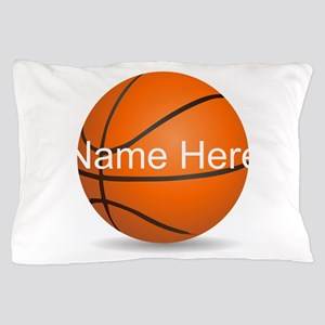 Customizable Basketball Ball Pillow Case