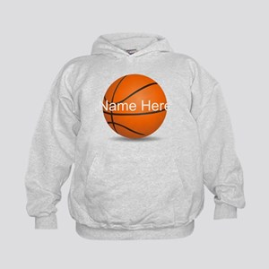 Customizable Basketball Ball Kids Hoodie