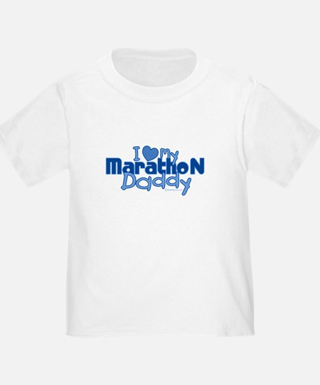 I Love My Marathon Daddy T-Shirt