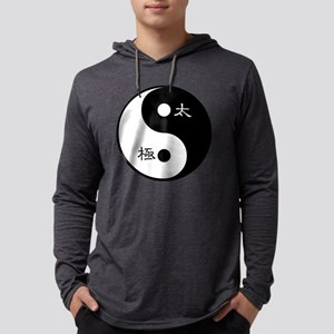Tai Chi Yin Yang Symbol Mens Hooded Shirt