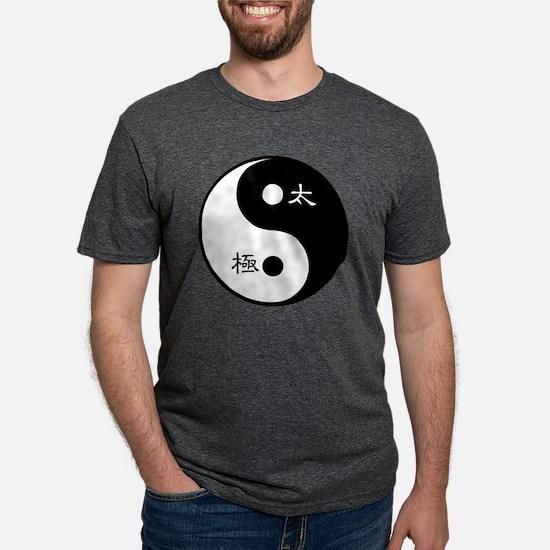 Tai Chi Yin Yang Symbol Mens Tri-blend T-Shirt