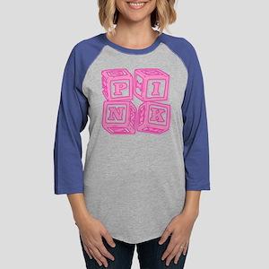 Pink6 Womens Baseball Tee