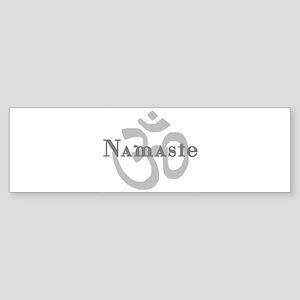 Namaste 4 Sticker (Bumper)