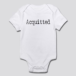 Witty Funny Acquitted Infant Bodysuit