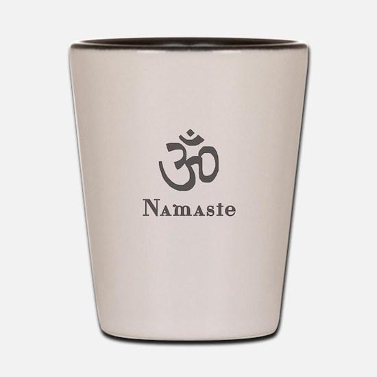 Namaste 3 Shot Glass