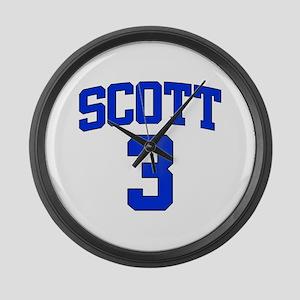 Scott 3 Large Wall Clock