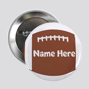 """Personalized Football 2.25"""" Button"""