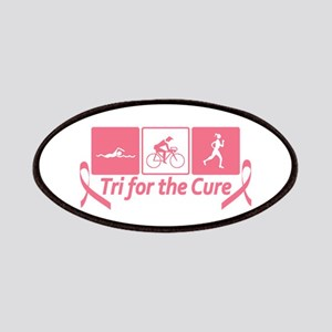 Tri For The Cure (Breast Cancer) Patches