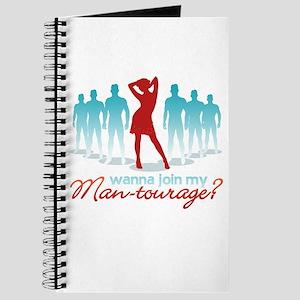 """""""Man-Tourage"""" Journal"""