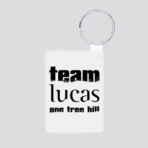 Team Lucas - One Tree Hill Aluminum Photo Keychain