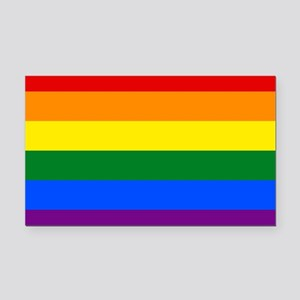 Gay Pride Rectangle Car Magnet