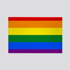 Gay Pride Rectangle Magnet (100 pack)