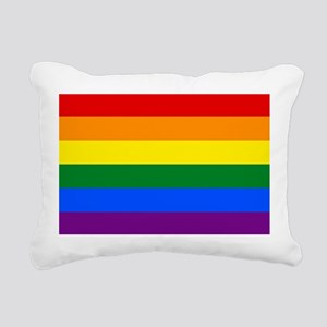 Gay Pride Rectangular Canvas Pillow
