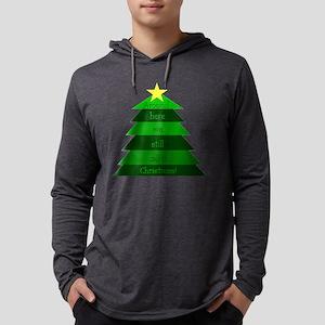 10x10still_christmas_trans Mens Hooded Shirt