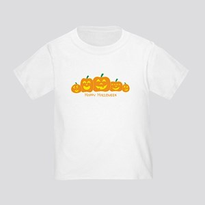 Happy Pumpkins Toddler T-Shirt