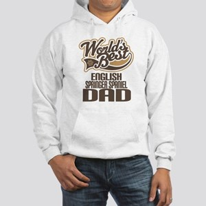 English Springer Spaniel Dad Hooded Sweatshirt