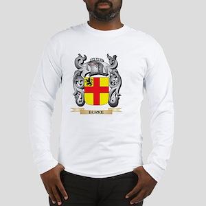 Burke Family Crest - Burke Coa Long Sleeve T-Shirt