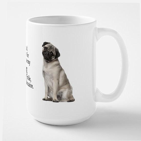 Pug Mug Large Mug