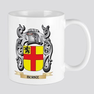 Burke Family Crest - Burke Coat of Arms Mugs