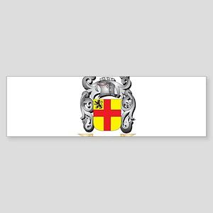 Burke Family Crest - Burke Coat of Bumper Sticker