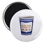 """NYC Coffee 2.25"""" Magnet (100 pack)"""