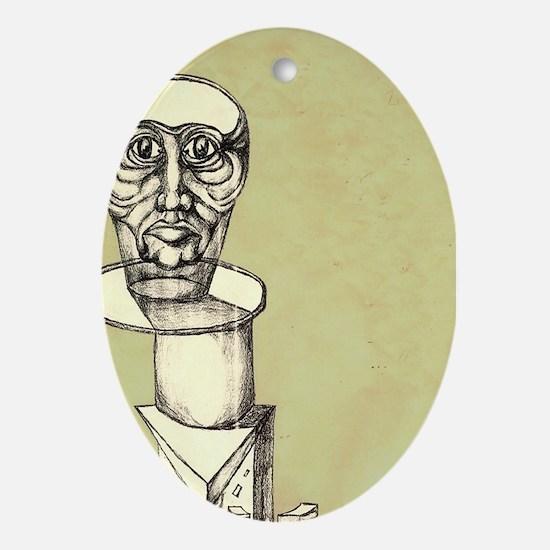Jughead sketch Oval Ornament