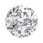 Black and white tribal swirls 3.5