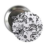 Black and white tribal swirls 2.25