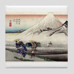 Hara - Hiroshige Ando - 1833 Tile Coaster