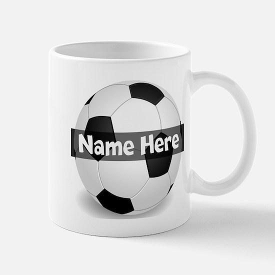 Personalized Soccer Ball Mug