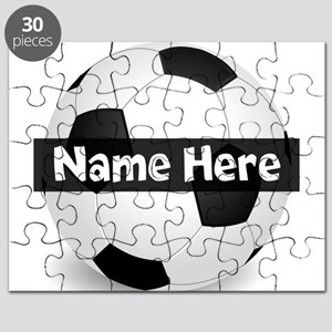 Personalized Soccer Ball Puzzle