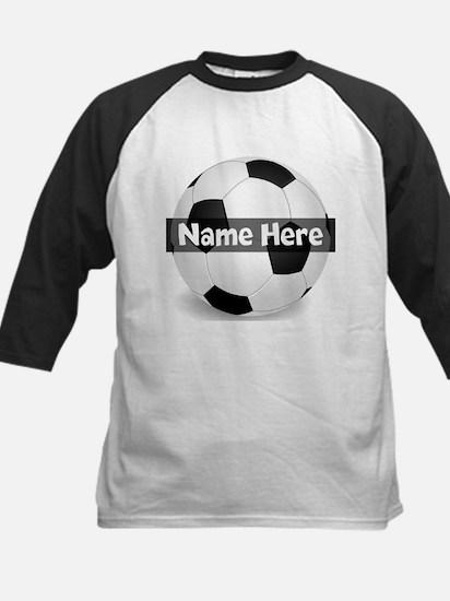 Personalized Soccer Ball Kids Baseball Jersey