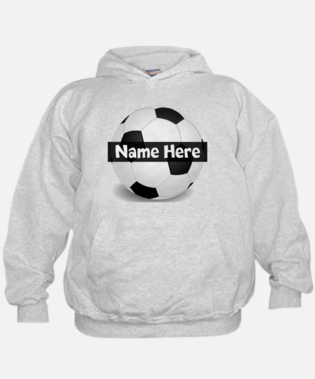 Personalized Soccer Ball Hoody