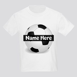 Personalized Soccer Ball Kids Light T-Shirt da3ec09da